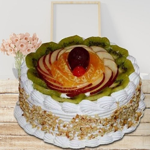 Hankering�s Privilege 1 Kg Fresh Fruit Cake