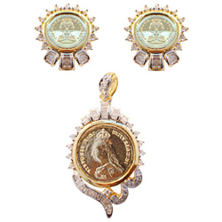 Eye-Catching Wedding Special Necklace Set