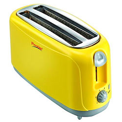 Superb Prestige Popup Yellow Toaster Stainless Steel 1500W