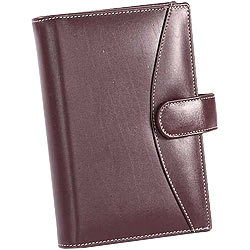 Stylish Brown Leather Organizer