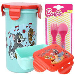 Remarkable Kids Essential Tom and Jerry Tiffin Set