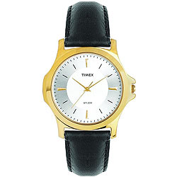 Timex Presents Attractive Golden Coloured Round Dialed Gents Watch