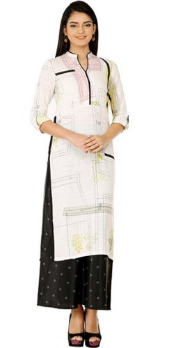 Abstract Print Kurti by W Lifestyle