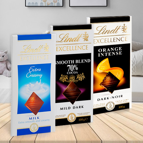 Delicious Lindt Excellence Chocolate Bars