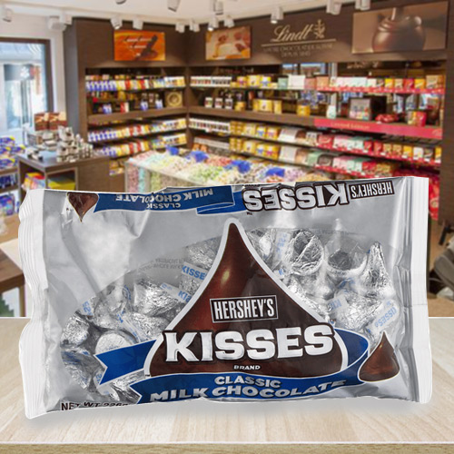 Delectable Hersheys Kisses Milk Almond Chocolate Pack