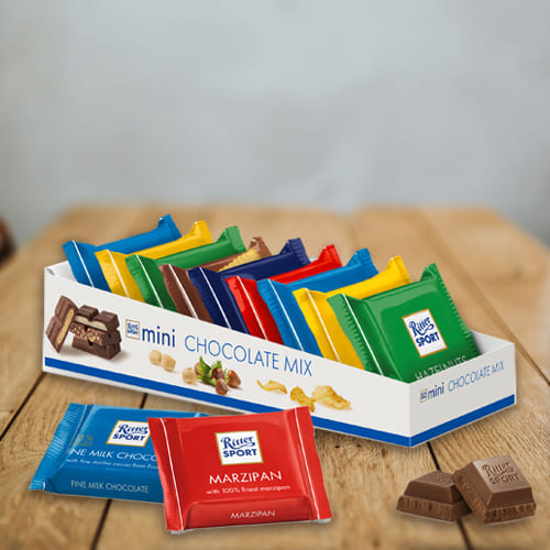 Scrumptious Ritter Sport Mini Chocolate Mix