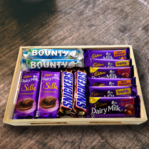 Gift Hamper of Assorted Chocos for Birthday