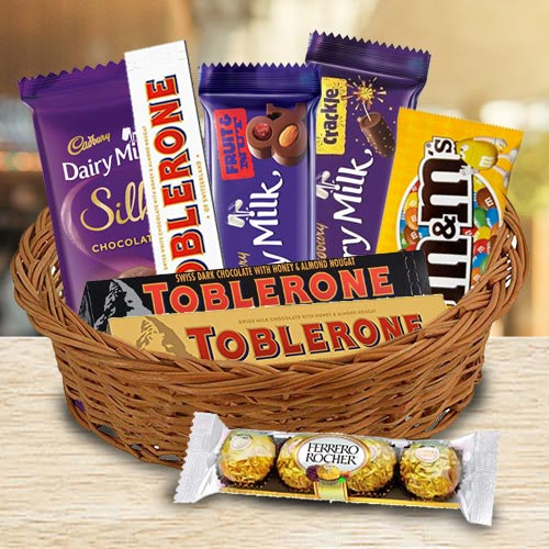 Wonderful Chocolate Gifts Basket