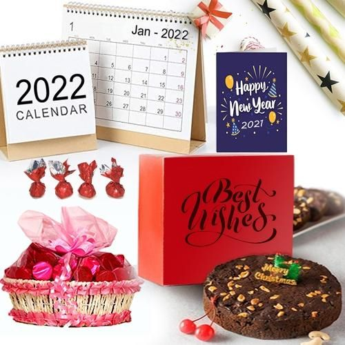 Refreshing New Year Gift Hamper with Festive Flavour