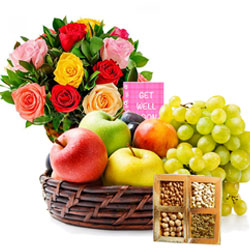 Pleasant Display of Get Well Gift Hamper