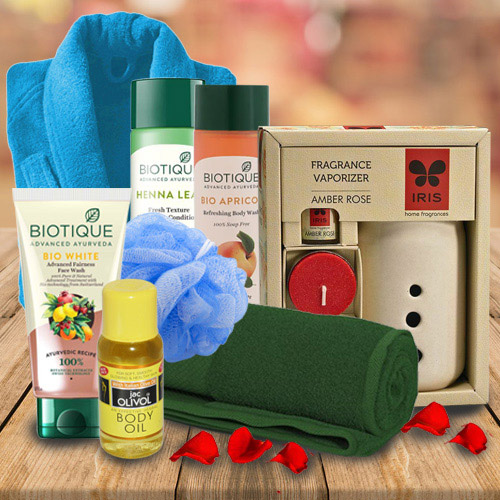 Marvelous Bath Hamper for Women