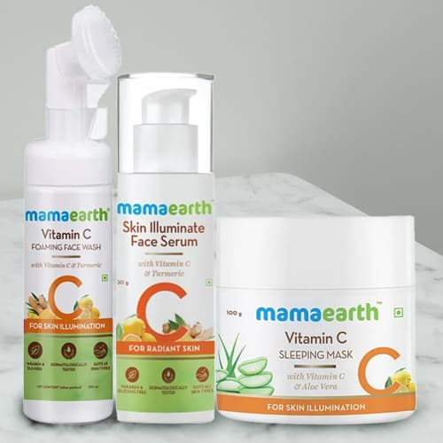Seductive Mamaearth Daily Routine Skin Care Kit
