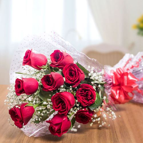 Sundry Love Red Rose Bouquet