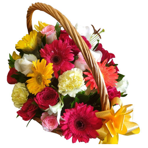 Special Basket of Assorted Flowers