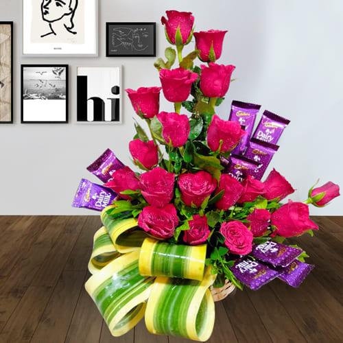 Captivating Floral Gift for 21st Birthday Celebration