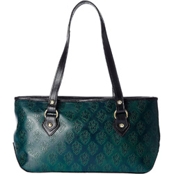 Embossed Leather Laptop Bag from Holii