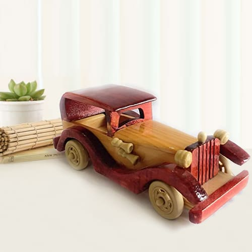 Classic Vintage Vehicle Wooden Car Toy