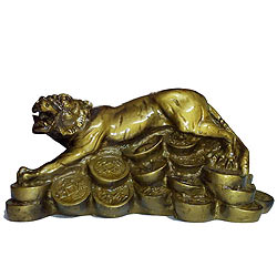 Exclusive Feng Shui Money Tiger
