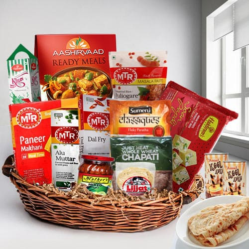 Delicious Desi Style North Indian Lunch Gift Hamper