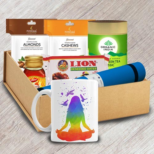 Refreshing Yogic Morning Gift Hamper