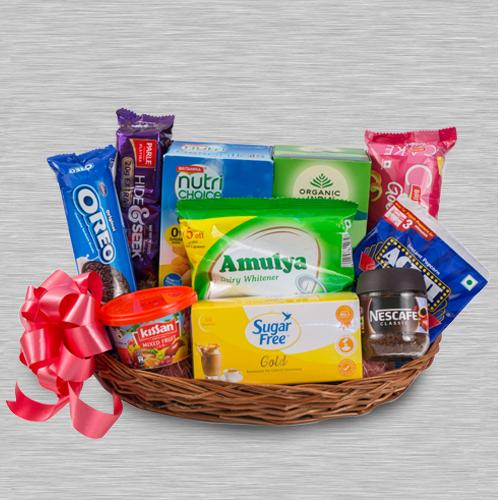Classic Tea Time Gift Hamper for Family