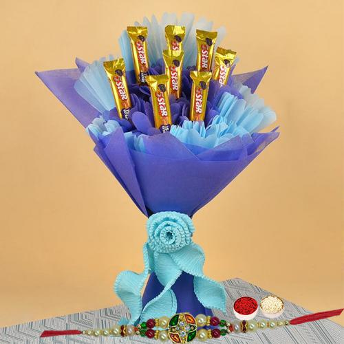 Deliver Rakhi Chocolates Gift for a Perfect Five Star Brother