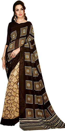 Attractive Handloom Silk Saree