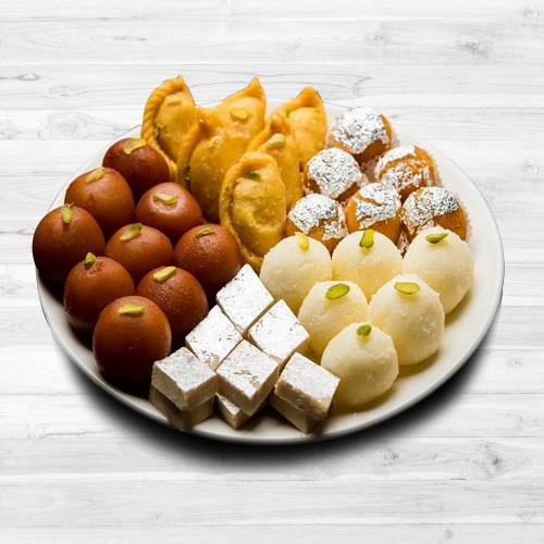 Delicious Assorted Sweets from Bhikaram