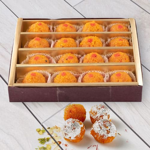 Awesome Haldirams Motichur Laddoo