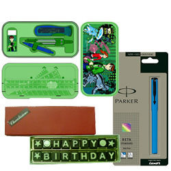 Wonderful Presentation of Ben 10 Geometry Box with More