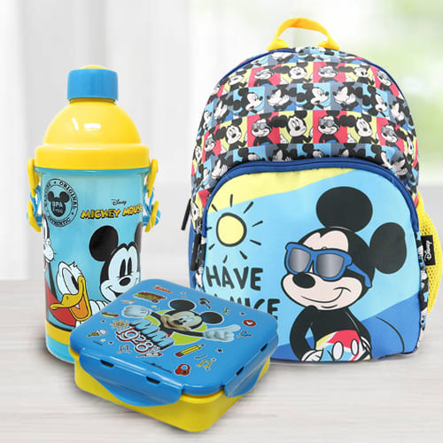 Exciting Mickey School Hamper for Kids