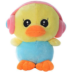 Splendid Duck Soft Toy with Earphone
