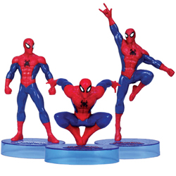 Delightful Spiderman Figurine Collection