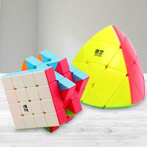 Marvelous Stickerless High Speed Cube N Pyramid Puzzle